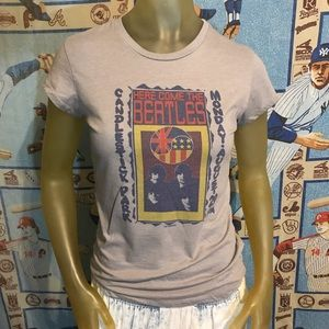 The Beatles Band Tee Candlestick Park SanFrancisco